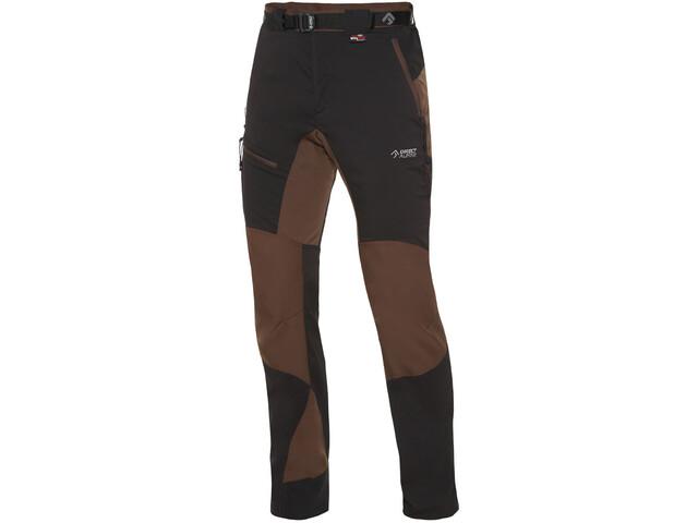 Directalpine Patrol Tech 1.0 Pantalones cortos Hombre, black/brown